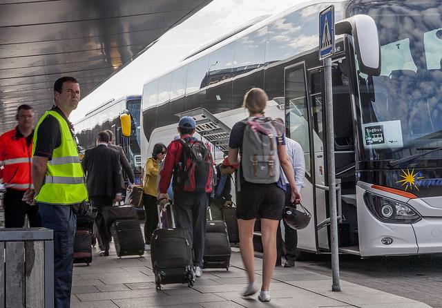 Strejk Oresundstag ersattningsbuss