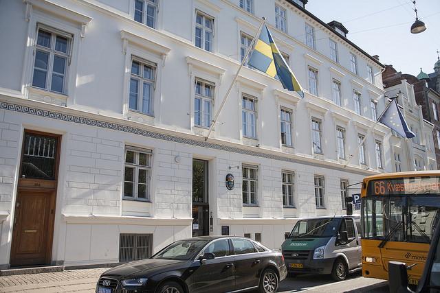 Svenska ambassaden Kopenhamn webb