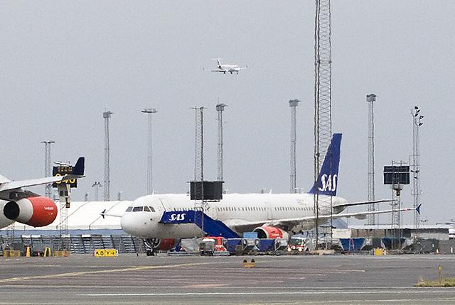 SAS plan Kastrup