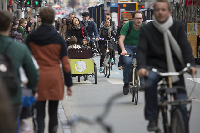 Cyklister Kopenhamn webb