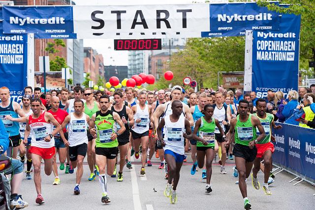 Copenhagen Marathon foto Spartabilleder webb