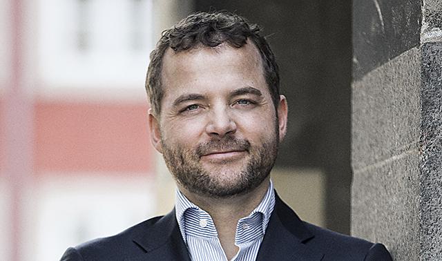 Uddannelsesminister Morten Østergaard fotograferet i og ved Uddannelsesministeriet den 6. maj 2013