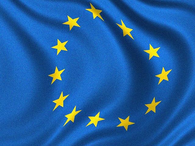 EU-flagga foto Yanni Koutsomitis - Flickr