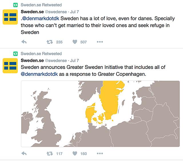 Twitterkamp swedense