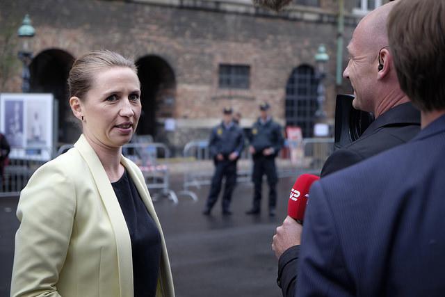Mette Frederiksen webb
