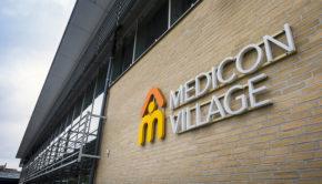 Medicon Village fasad web