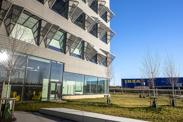 Ikea Kontor Kontor Skrivbord Ikea Kontor Och Syhrna Ett P Styleroom Av With Ikea Kontor Finest