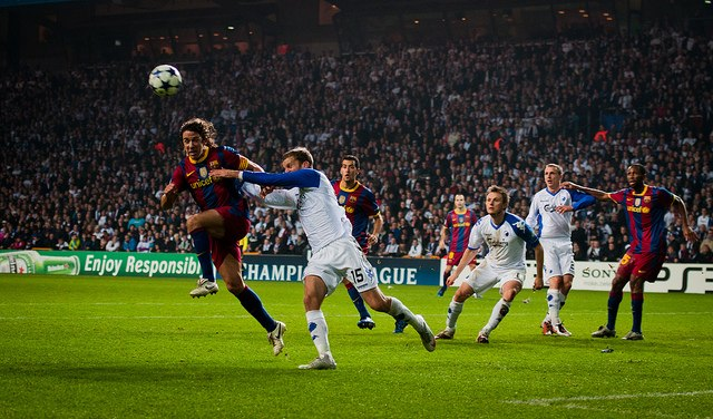 FC Kobenhavn mot Barcelona 2010
