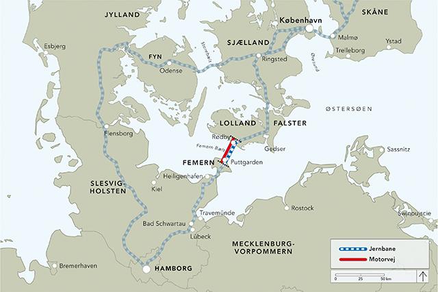 stora bält karta News Øresund Sverige » Tysk miljöprövning av Fehmarn Bält tunneln  stora bält karta