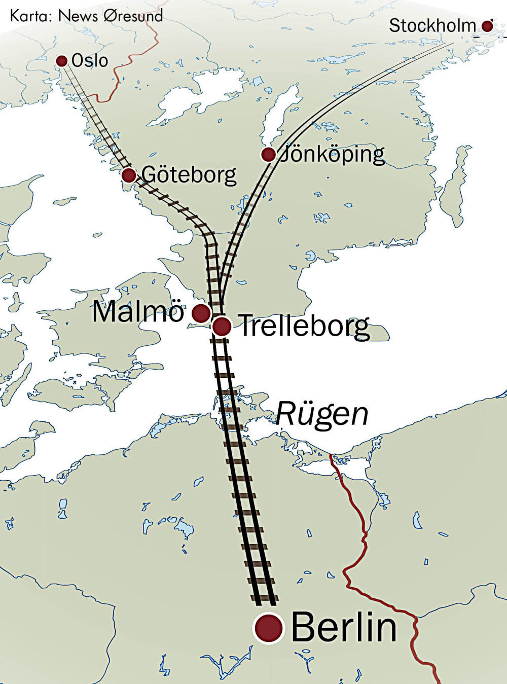 Karta: News Øresund