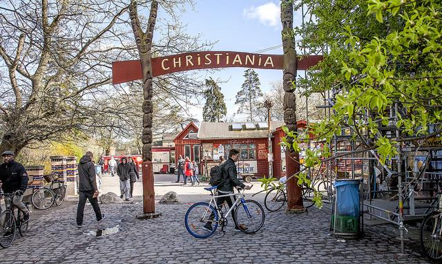 Christiania entre