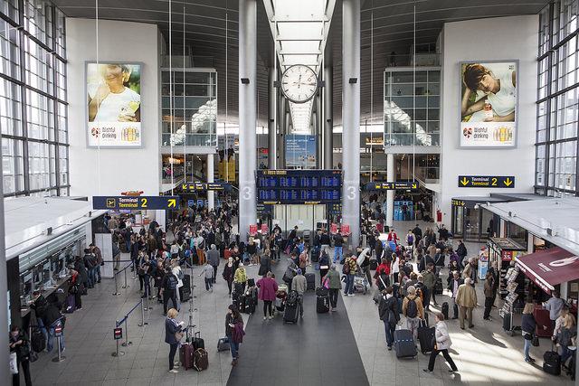 Kastrups flygplats webb