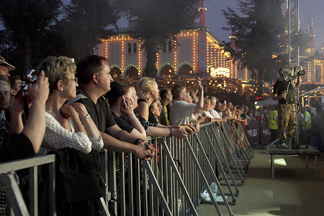 Publikum ved Fredagsrock