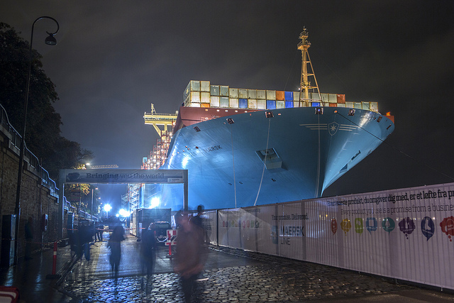 Majestic Maersk webb