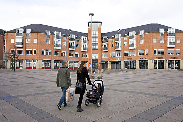 Balder Oesterfaelled torv Kopenhamn