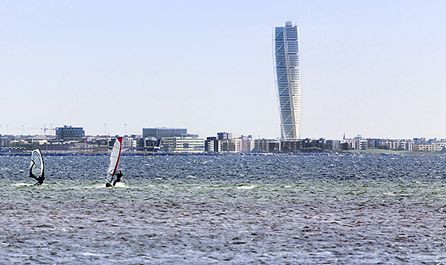 Turning Torso webb