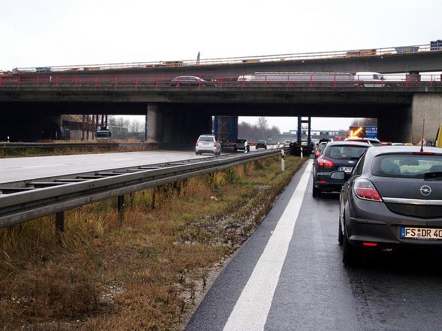 Autobahn A9 webb