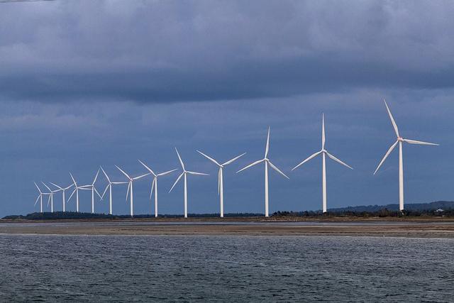 Vindkraftverk Jylland webb