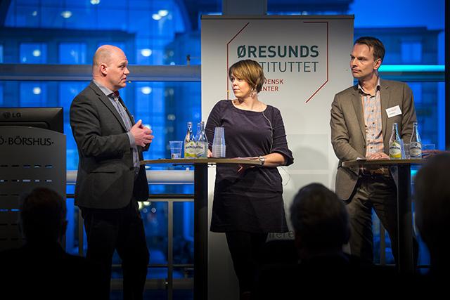 Real Estate Oresund debatt Almgren, Stjernfeldt Jammeh, Danielsson webb