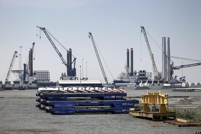 Vindkraftverk leverans Esbjerg webb