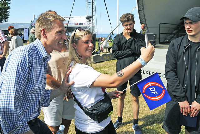 Selfie Kristian Thulesen Dahl webb
