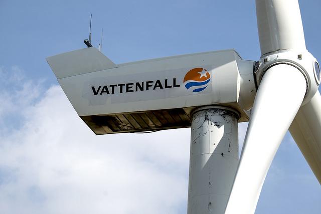 Vattenfall vindkraft webb