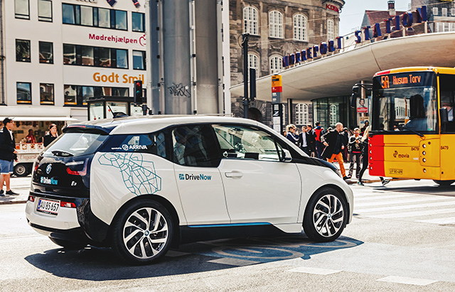 BMW i3 Drive Now Copenhagen webb