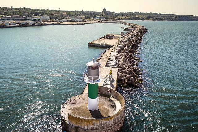 Visby hamn webb