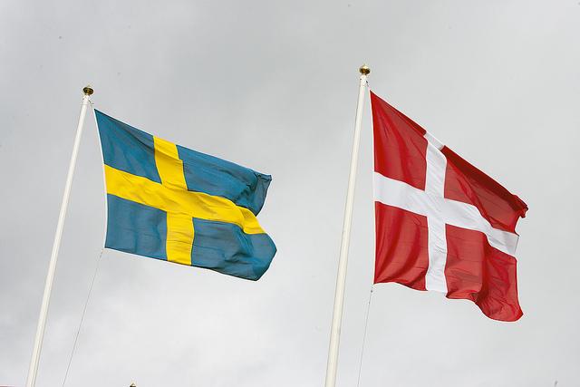 Flaggor foto Johan Wessman