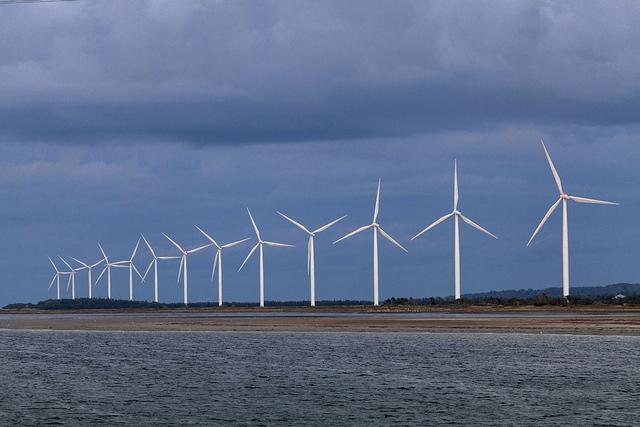 Vindkraft foto Johan Wessman