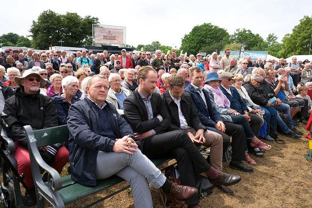 Lars Loekke Folkemodet foto Johan Wessman