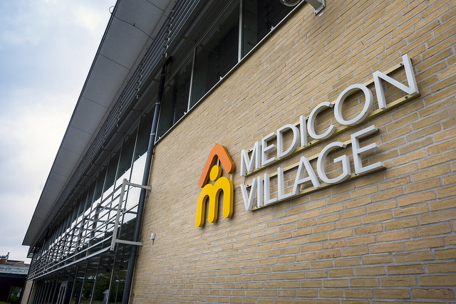 Medicon Village fasad web