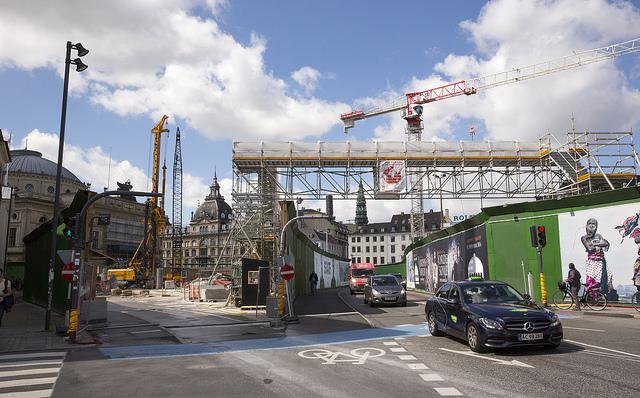 Metrobygget Kongens Nytorv webb